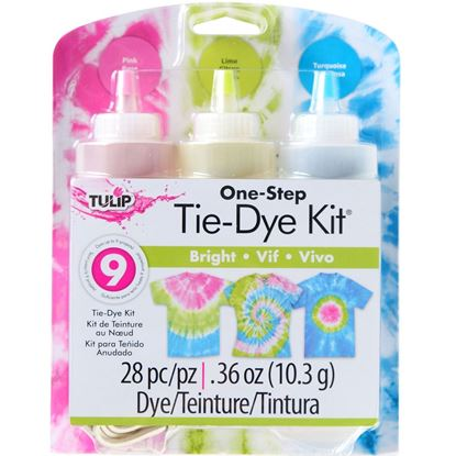 Bright 3-Color Tie-Dye Kit