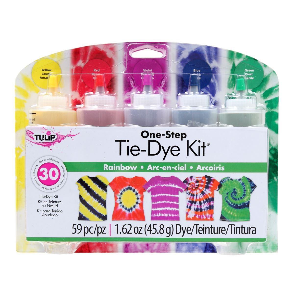Tiedye Tulip One Step Rainbow Tie Dye Kit