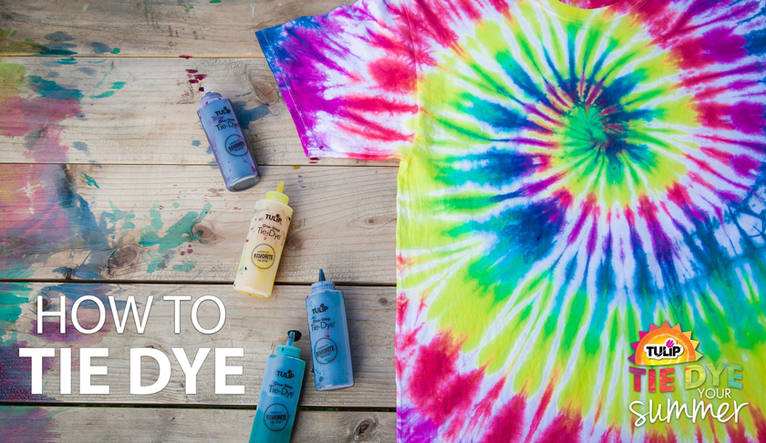 How to Tie Dye Basics
