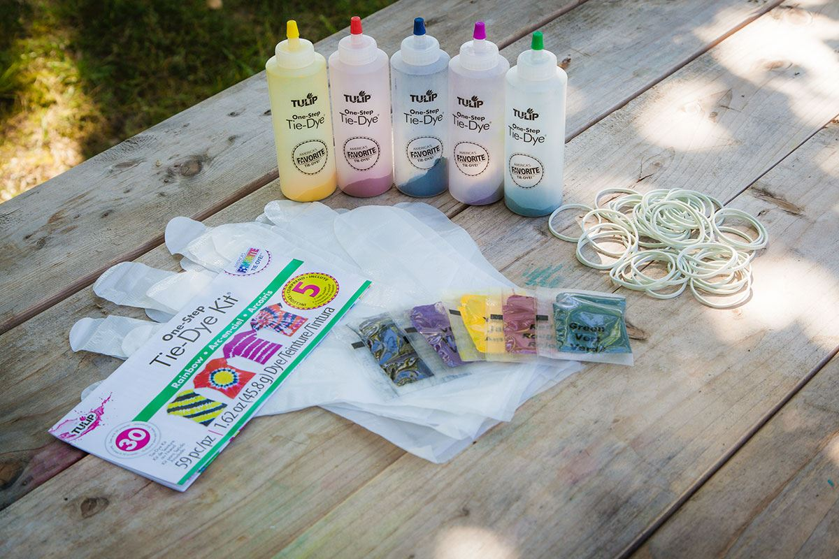 How to Tie Dye Basic Supplies
