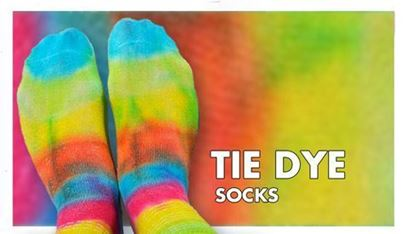 Tie-Dye Socks DIY
