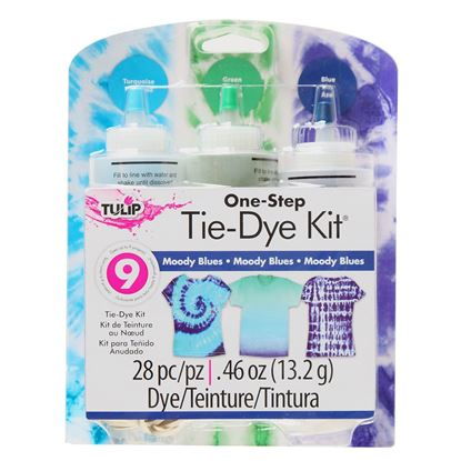 Moody Blues 3-Color Tie-Dye Kit