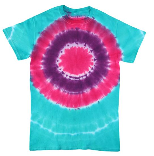 Paradise Punch 3-Color Tie-Dye t-shirt