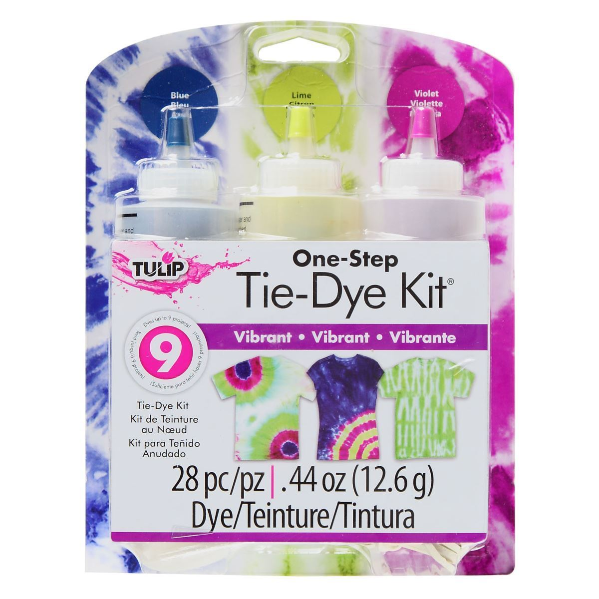 Tie Dye Your Summer Tulip One Step Vibrant Tie Dye Kit