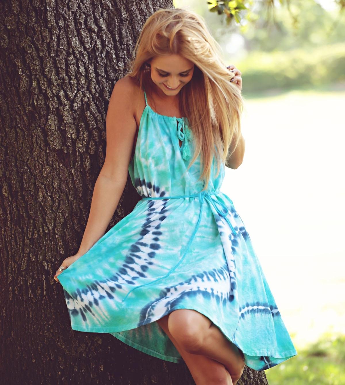 Tie Dye Your Summer | Tie-Dye dress