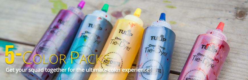 Picture of 5-Color Tie-Dye Kits