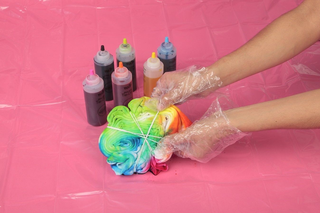 Show details for Rainbow Spider Tie Dye DIY