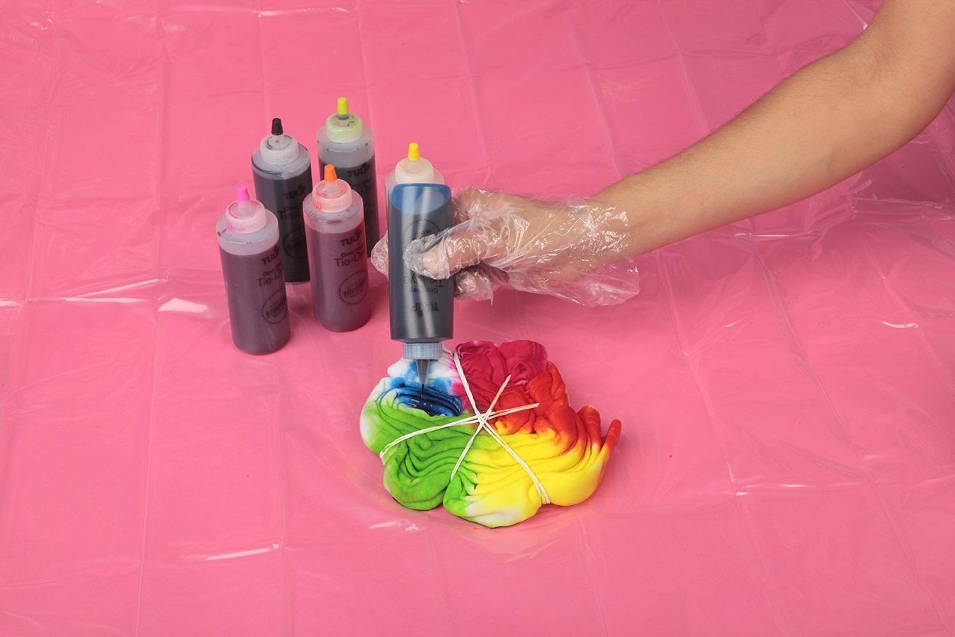 Show details for Rainbow Spider Tie Dye DIY