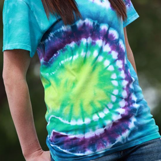 Picture of Double Bullseye Tie-Dye T-shirt
