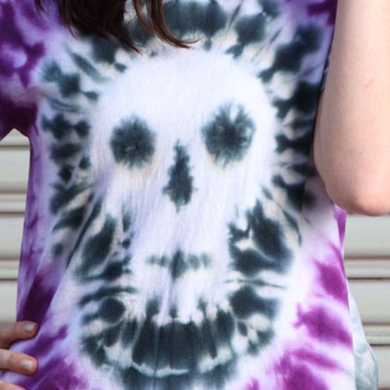 Picture of Tie-Dye Skull T-shirt