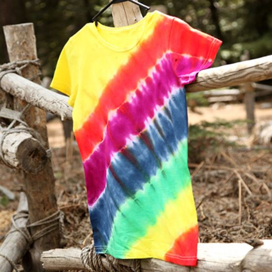 Picture of Rainbow on the Rise Tie-Dye T-shirt