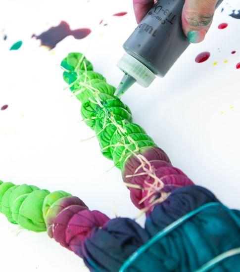 Vibrant Tie Dye Process