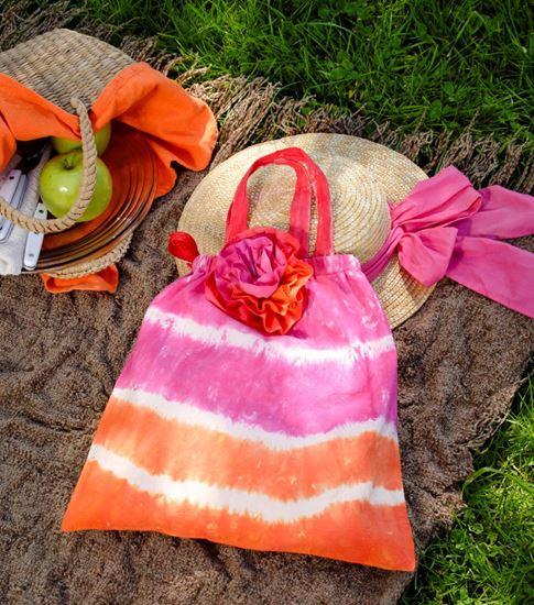 Tropical Twist Tie Dye Bag