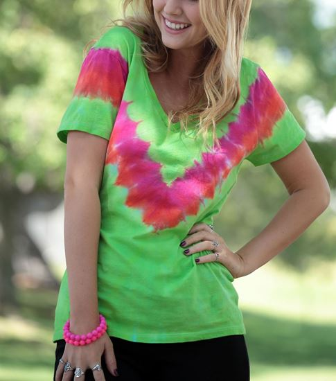 Tropical Twist Tie Dye Shirt
