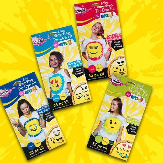 Emoji Tie-Dye Kits Bundle