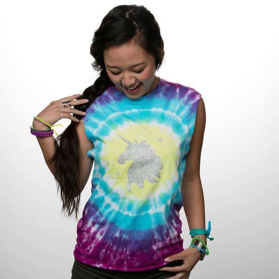 Unicorn Sparkle Tie Dye Kit Contents