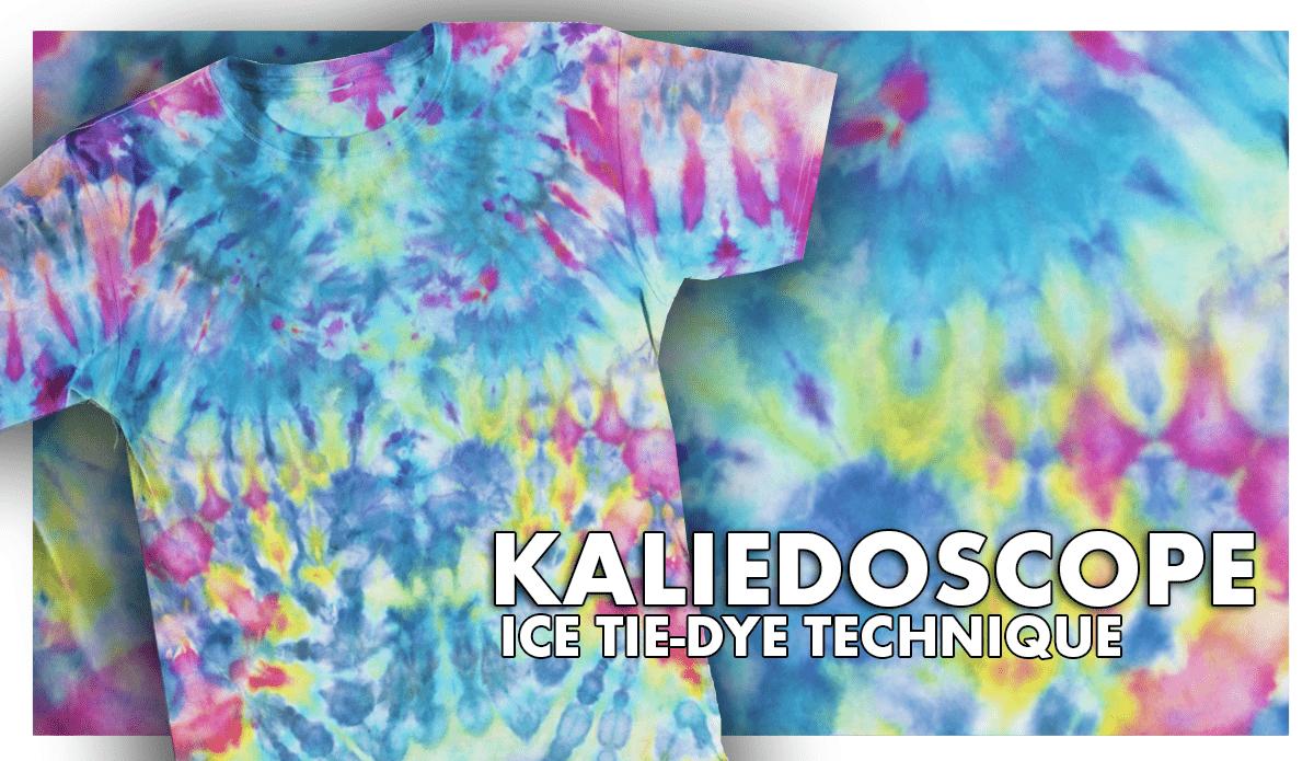 Kaleidoscope Ice Tie-Dye Technique