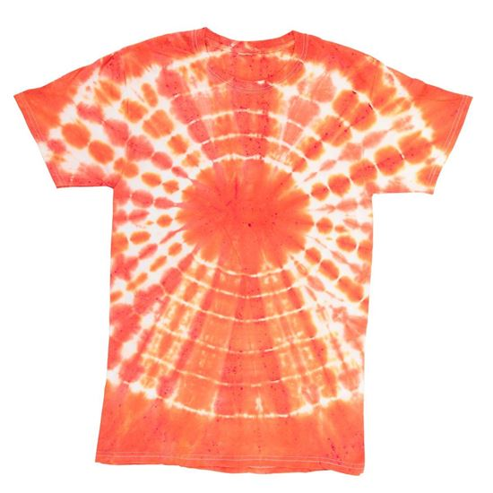 Orange Tie Dye T-shirt