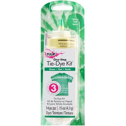 Green 1 Color Tie Dye Kit