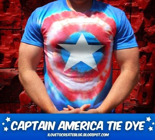 Show details for 10+ Patriotic Tie-Dye DIYs