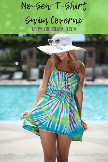 Picture of No-Sew T-shirt Swim Coverup