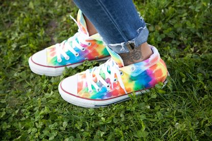 Picture of DIY Tie-Dye Shoes