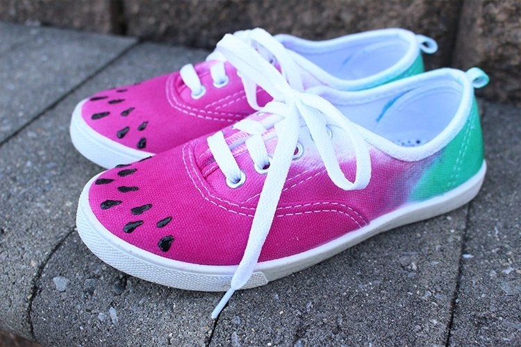 Show details for DIY Tie-Dye Shoes