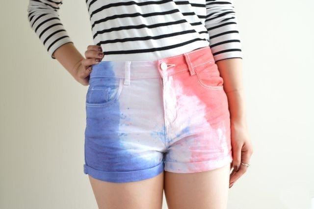 Picture of Tie-Dye Shorts 3 Ways