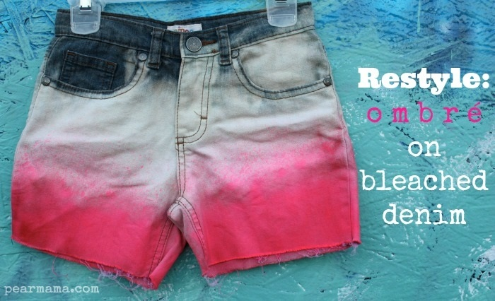 Show details for Tie-Dye Shorts 3 Ways