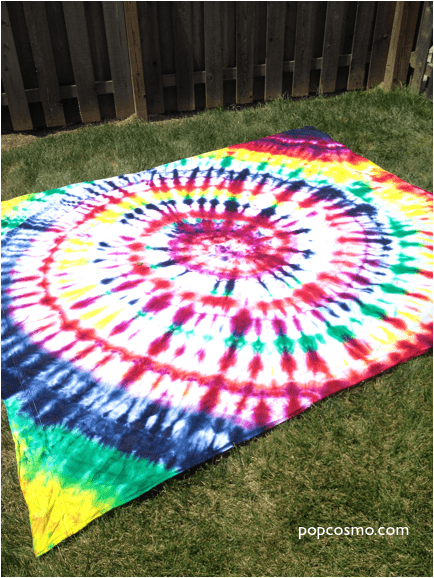 Show details for How to Tie-Dye Sheets