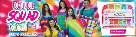 Picture for category 5-Color Tie-Dye Kits