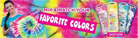 Picture for category 1-Color Tie-Dye Kits