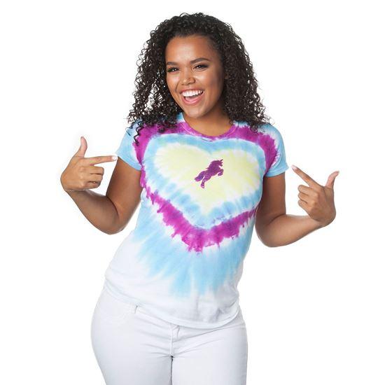 Unicorn Shimmer Tie-Dye Shirt