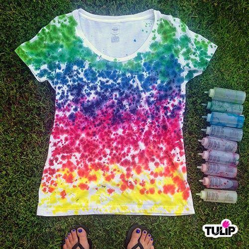 Rainbow Drip Tie Dye T-shirt