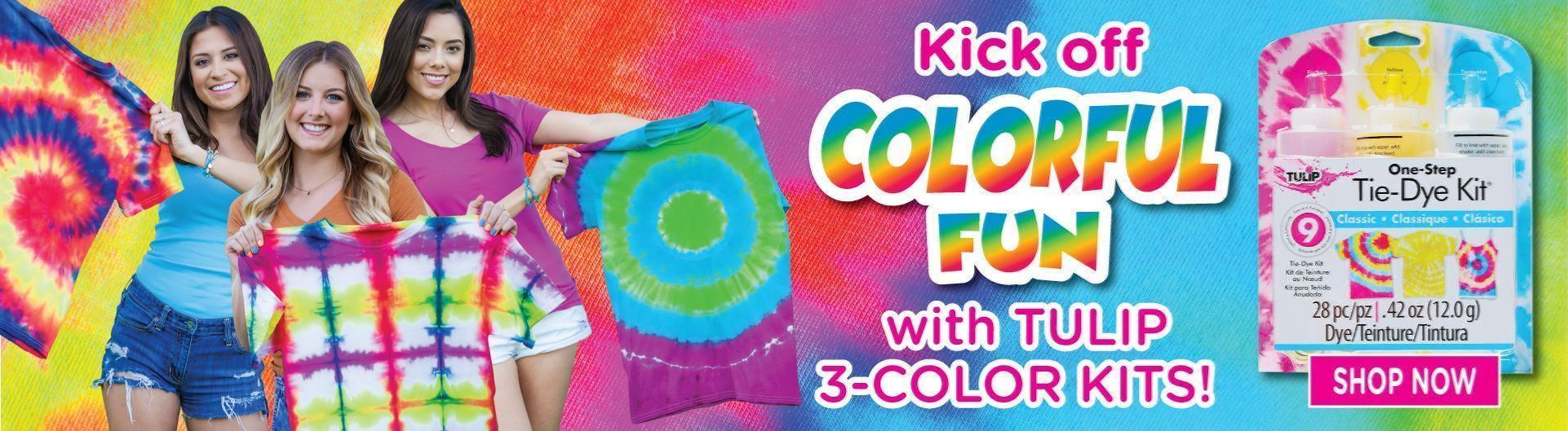 Picture of 3-Color Tie-Dye Kits