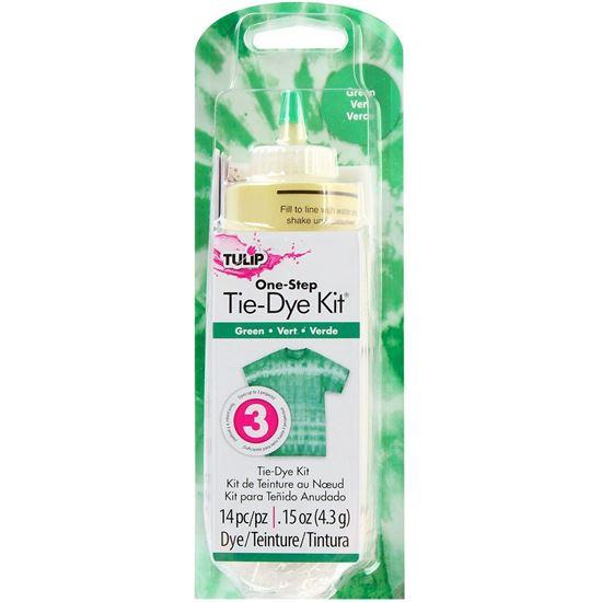 Green 1 Color Tie Dye Kit