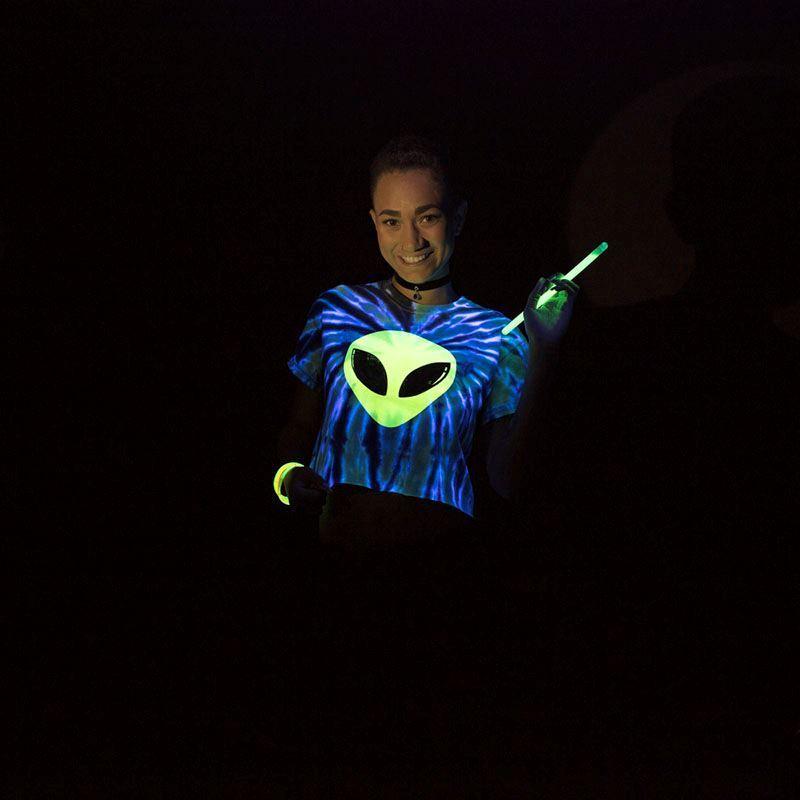 Alien Glow Tie Dye T-shirt