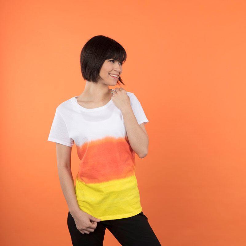 Candy Corn Tie Dye T-shirt