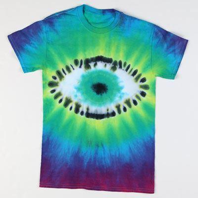 Eyeball  Tie-Dye T-shirt