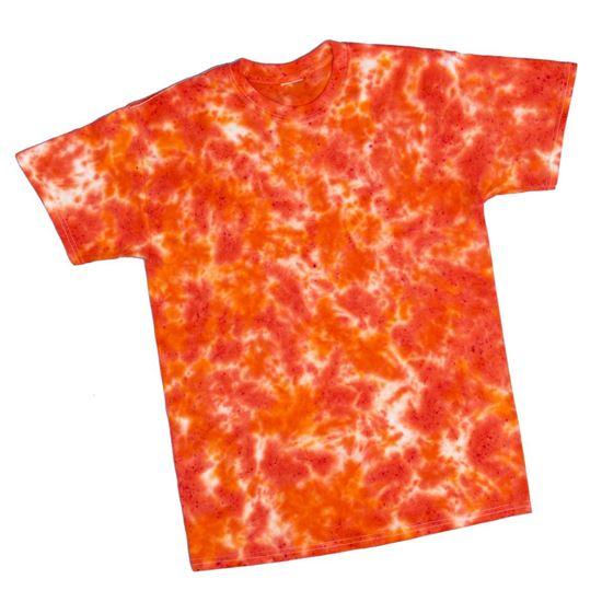 Orange Tie Dye T-shirt