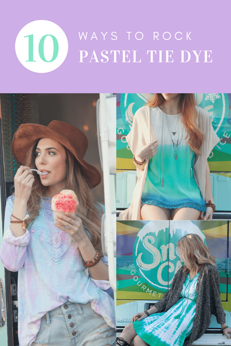 10 Ways to Rock Pastel Tie Dye