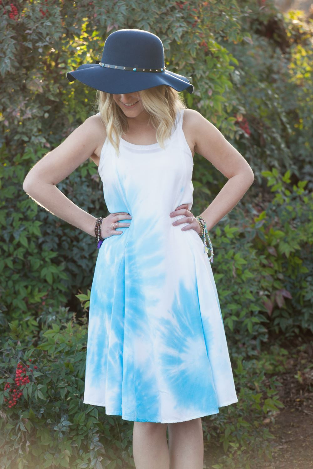 Bullseye Pastel Tie Dye Dress