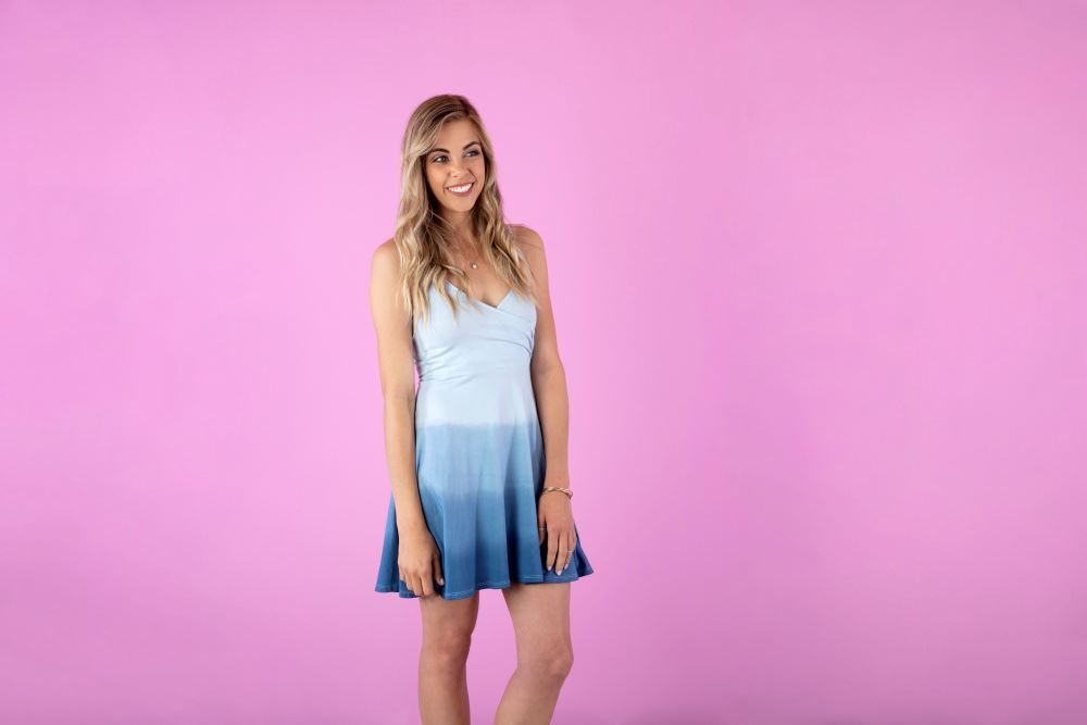 Show details for Ombre Dip Dye Dress Tutorial