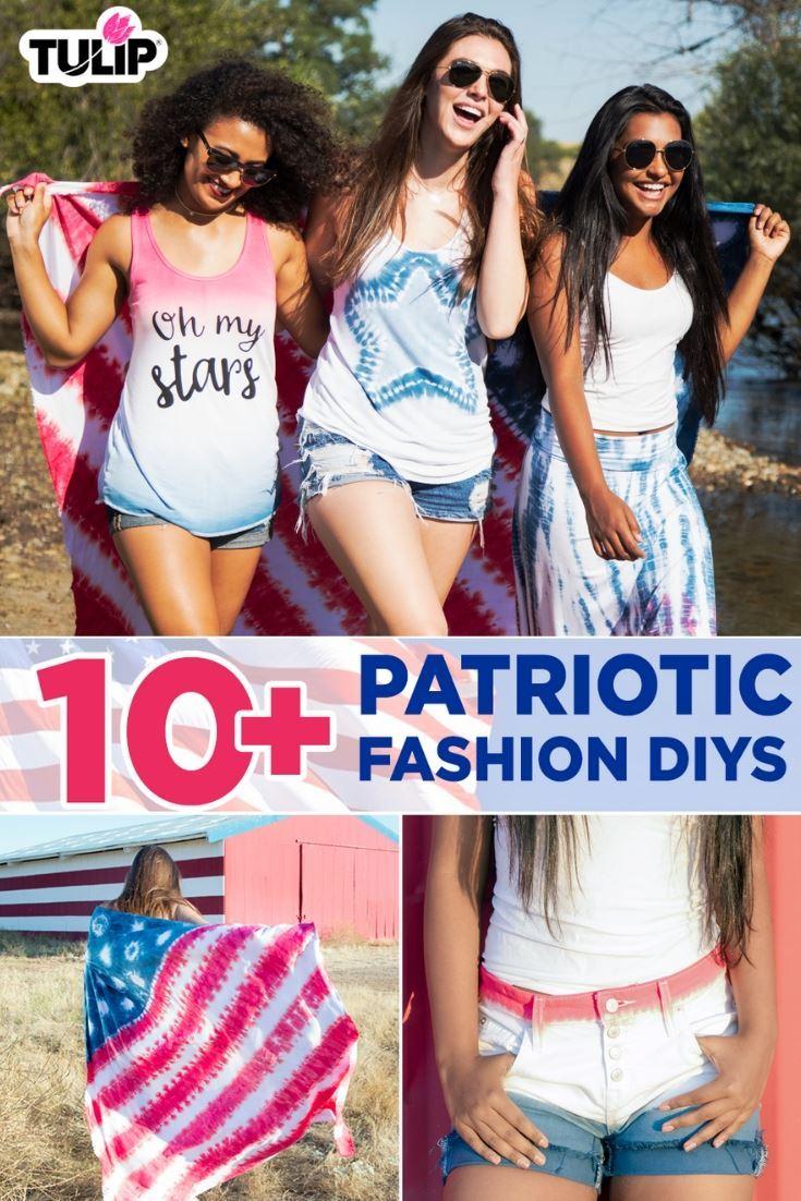 Patriotic Tie Dye DIYs