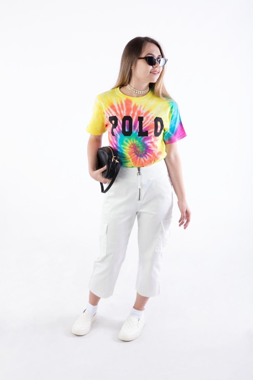 Gigi Hadid Inspired POLO Tie Dye T-shirt