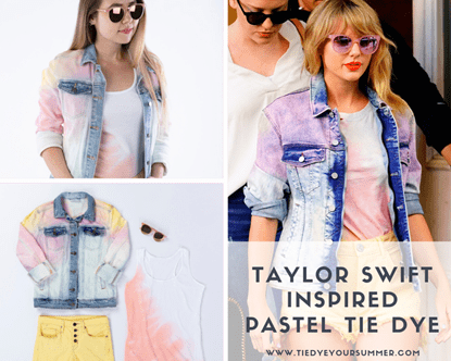 Picture of DIY Taylor Swift Inspired Pastel Tie Dye