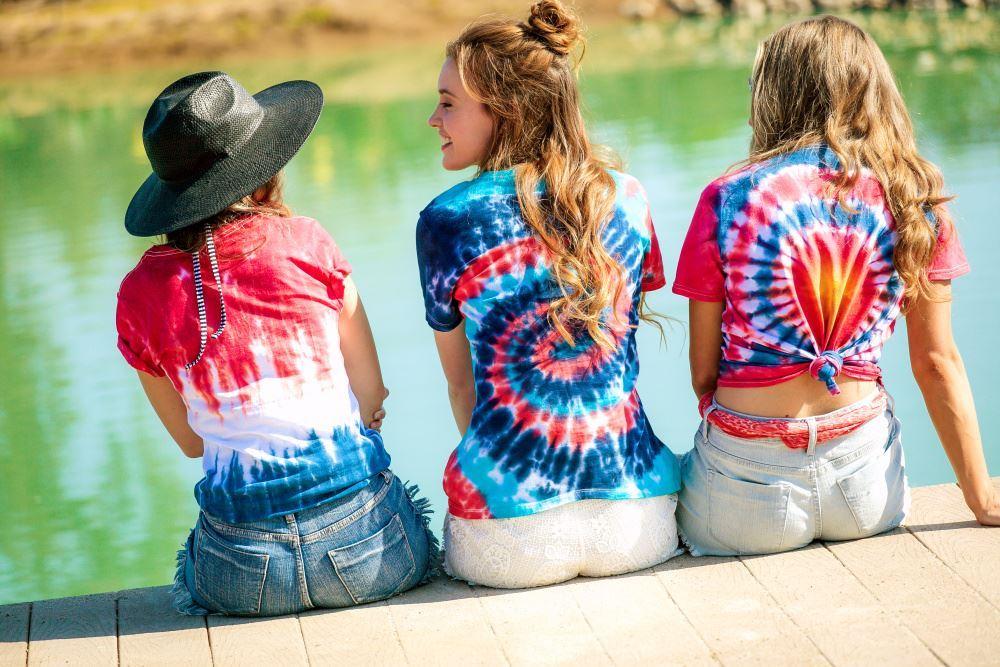 Patriotic Tie-Dye T-shirts