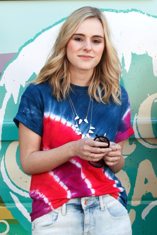 Patriotic Tie-Dye T-shirt