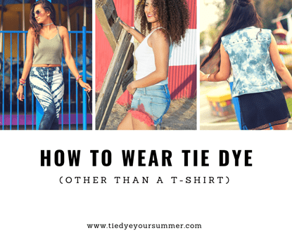 Picture of How To Wear Tie-Dye