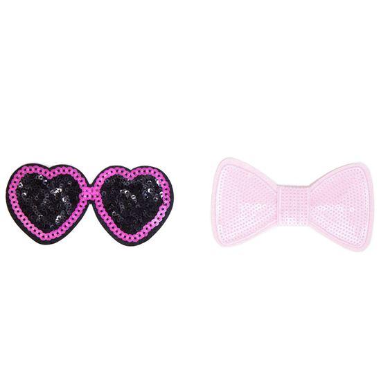 Emoji Girl Tie-Dye Kit Appliques